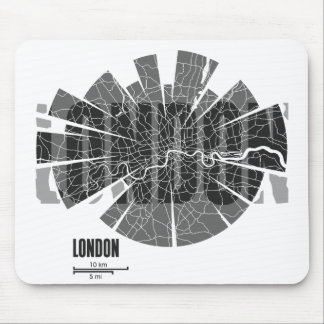 London Map Mousepad