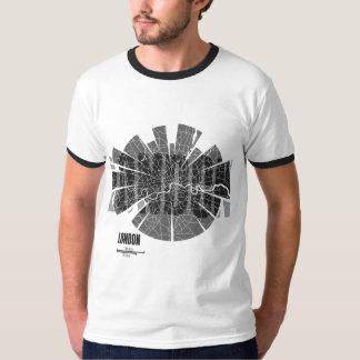 London Map Ringer T-Shirt