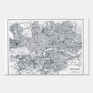 London Map Sign