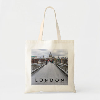London Millennium Bridge tote bag