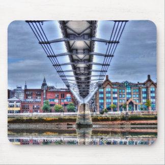 London Millennium Footbridge, England Mouse Pad