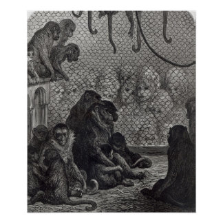 London' Monkeys Poster