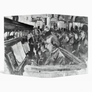 London Music Hall Orchestra Pit 1890 Binder