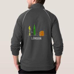 London Neon Modern Stylish Sketch Trendy Cool Chic Jacket