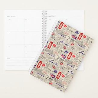 London Newspaper Pattern Planner