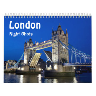 London - Night Shots Calendar