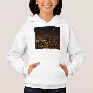 London night skyline hoodie