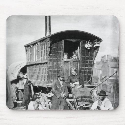 London Nomades, c.1876 Mousepad