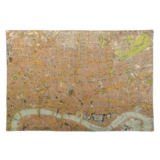 London Northeast Cloth Placemat