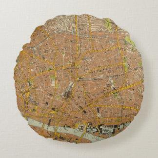 London Northeast Round Pillow