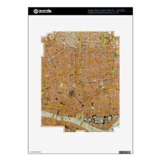 London Northeast Skin For iPad 3