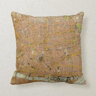 London Northeast Throw Pillow