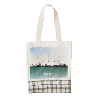 London O2 Arena - Day Zazzle HEART Tote Bag