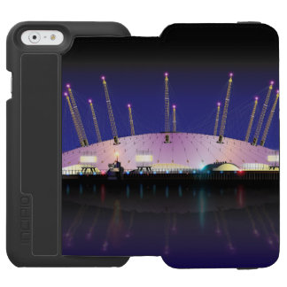 London O2 Arena - Night iPhone 6/6s Wallet Case