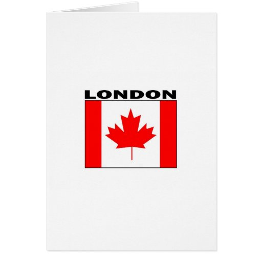 London, Ontario Greeting Card