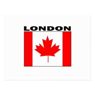 London, Ontario Postcard