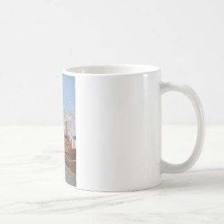 London Overland train- Hoxton station Coffee Mug