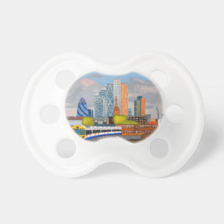 London Overland train- Hoxton station Pacifier