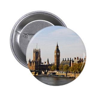 London Panorama Pinback Button