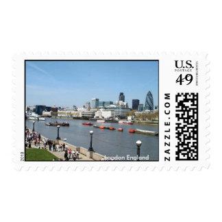 London Panoramic View Stamps
