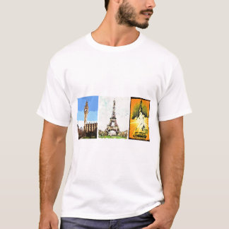 London, Paris, New York T-Shirt