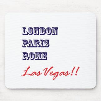 London Paris Rome, Las Vegas Mouse Pad