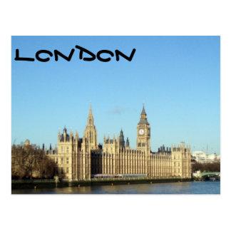 London Parliament and Big-Ben Postcard