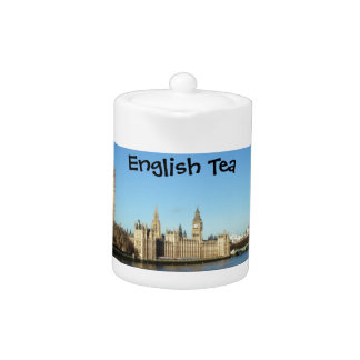 London Parliament and Big-Ben Teapot