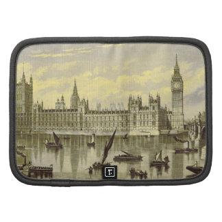 London Parliament Big Ben Thames Westminster 1800s Planners