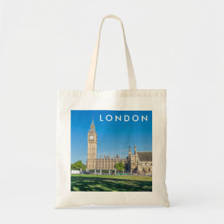 London Parliament Square tote bag