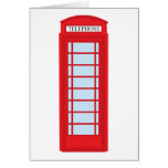 London phone booth cards