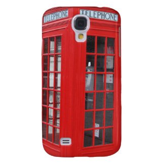 London Phone Booth iPhone Cases Galaxy S4 Cases