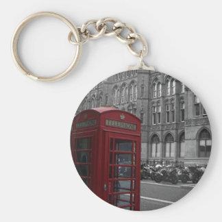 London Phone Booth Keychain