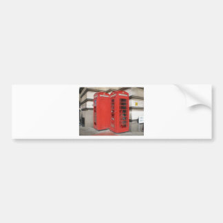 London Phone Booth Products Bumper Sticker
