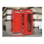 London Phone Booth Products Postcard