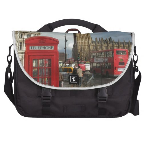 London Phone box & Big Ben (St.K) Bag For Laptop