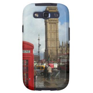 London Phone box & Big Ben (St.K) Galaxy S3 Cases