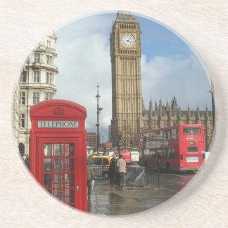 London Phone box & Big Ben (St.K) Drink Coaster