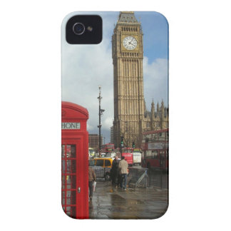 London Phone box & Big Ben (St.K) iPhone 4 Cover
