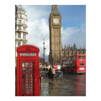 London Phone box & Big Ben (St.K) Letterhead