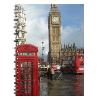 London Phone box & Big Ben (St.K) Notebook