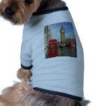 London Phone box & Big Ben (St.K) Pet T Shirt