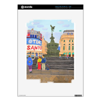 London, Piccadilly Circus Skin For iPad 2