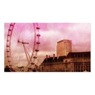 london,pink effekt.jpg Double-Sided standard business cards (Pack of 100)
