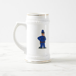 London Policeman Police Officer Cartoon Beer Steins