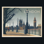 "London Postcard<br><div class=""desc"">Anderson Design Group is an award-winning illustration and design firm in Nashville,  Tennessee. Founder Joel Anderson directs a team of talented artists to create original poster art that looks like classic vintage advertising prints from the 1920s to the 1960s.</div>"