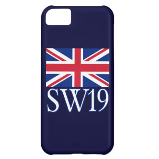 London Postcode SW19 with Union Jack Cover For iPhone 5C