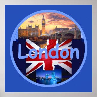 LONDON POSTER Print