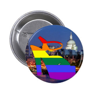 London Pride Buttons