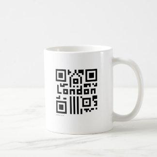 London QR Code Coffee Mug